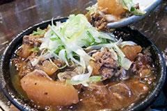 土手焼き(牛すじの味噌煮込み)